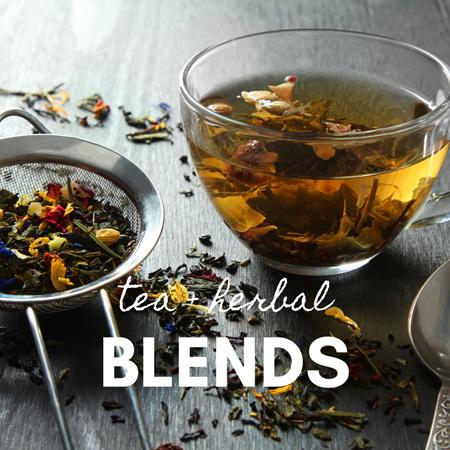 Teas + Herbal Blends