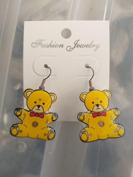 Teddbear Earrings