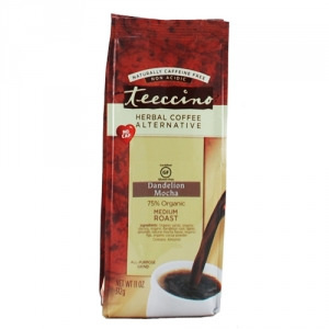 Teeccino 75% Organic Herbal Coffee Dandelion Mocha 312g