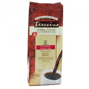Teeccino 75% Organic Herbal Coffee Dandelion Vanilla Nut 312g