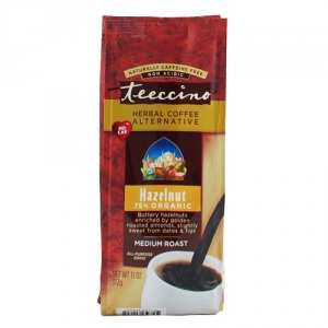 Teeccino 75% Organic Herbal Coffee Hazelnut 312g