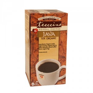 Teeccino 75% Organic Herbal Coffee Java 25pk
