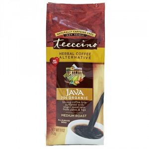 Teeccino 75% Organic Herbal Coffee Java 312g
