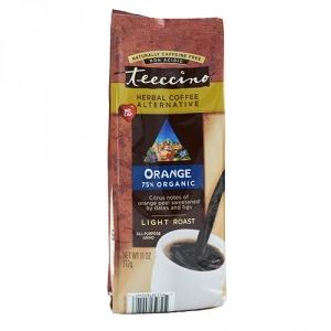 Teeccino 75% Organic Herbal Coffee Orange 312g