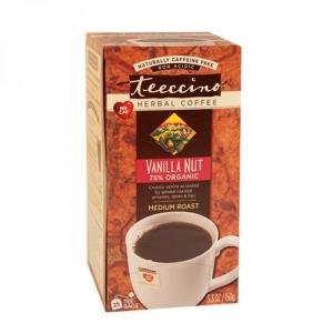 Teeccino 75% Organic Herbal Coffee Vanilla Nut 25pk