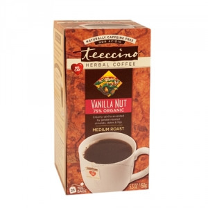 Teeccino 75% Organic Herbal Coffee Vanilla Nut 25pk