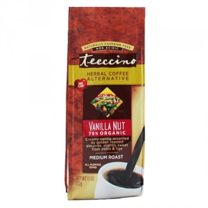 Teeccino 75% Organic Herbal Coffee Vanilla Nut 312g