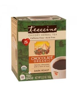 Teeccino Organic Chicory Herbal Tea Chocolate 10pk