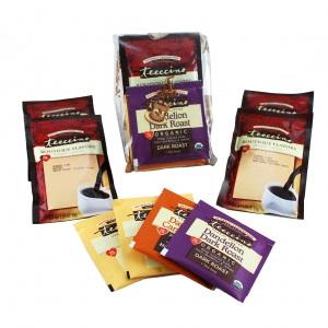 Teeccino Organic Herbal Coffee Dandelion Sampler 12pk