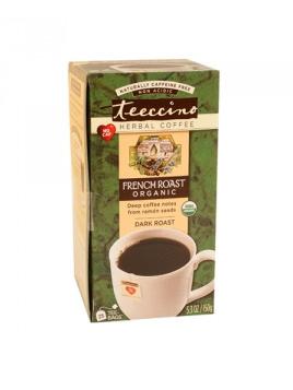 Teeccino Organic Herbal Coffee French Roast 25pk
