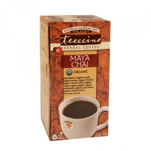 Teeccino Organic Herbal Coffee Maya Chai 25pk