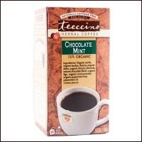 Teecino Organic Herbal Coffee Chocolate Mint 25pk