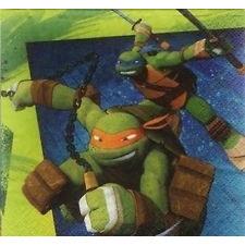 Teenage Mutant Ninja Turtles - Beverage Napkins x 16
