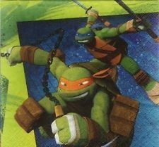 Teenage Mutant Ninja Turtles - Beverage Napkins x 16