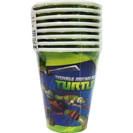 Teenage Mutant Ninja Turtles - Cups x 8