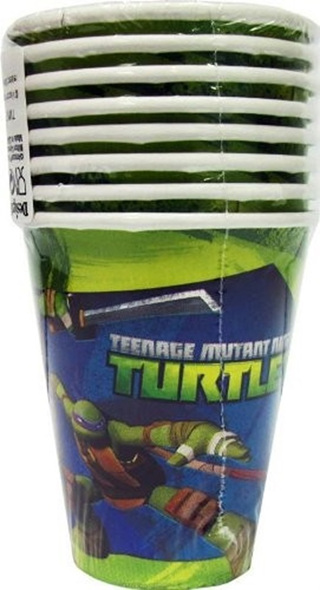 Teenage Mutant Ninja Turtles - Cups x 8