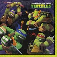Teenage Mutant Ninja Turtles - Lunch Napkins