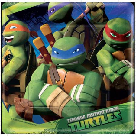 Teenage Mutant Ninja Turtles - Plates x 8