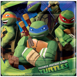 Teenage Mutant Ninja Turtles - Plates x 8