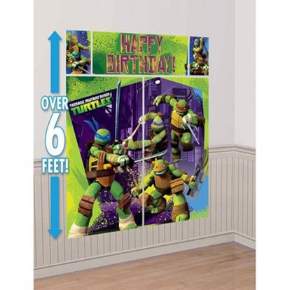 Teenage Mutant Ninja Turtles Wall Decorating Kit