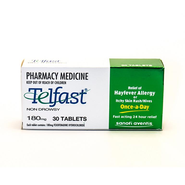 Telfast 30 tablets