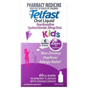 Telfast Liquid for Kids