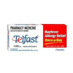 TELFAST Tablets 120mg 10