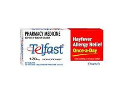 TELFAST Tablets 120mg 10