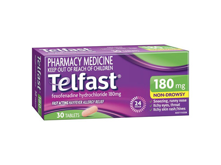 TELFAST Tablets 180mg 30s