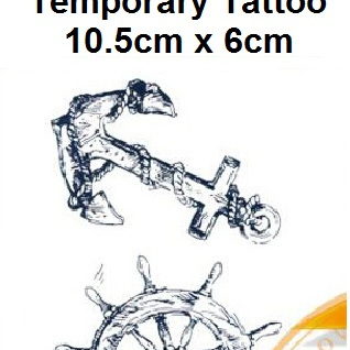 Temporary Tattoo Stickers 10.5cmX6cm