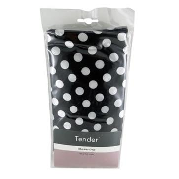 TENDER SHOWER CAP PLASTIC LINED 58CM