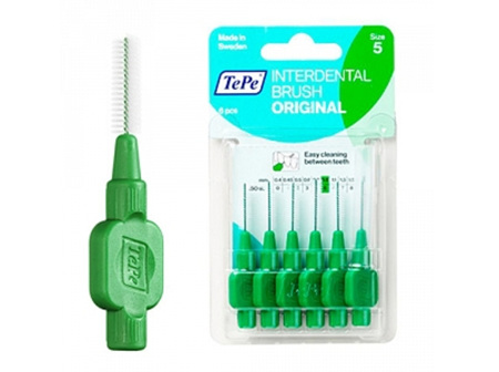 TEPE T/B I/dental Green 0.8mm 6pk