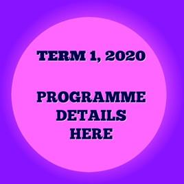 TERM 1 2020  PROGRAMME