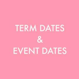 Term Dates & Event Dates