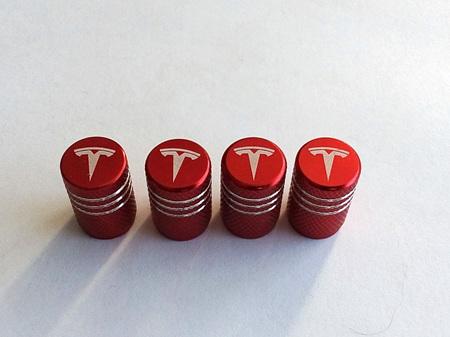 Tesla Tyre Valve Caps