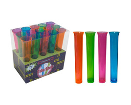 Test tube shot plastic glasses x 15