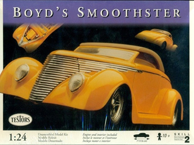 Testors 1/24 Boyds Smoothster (includes full engine detail)