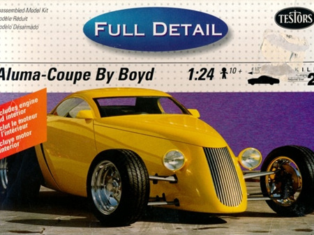 Testors 1/24 Aluma-Coupe by Boyd (Full Details Version)