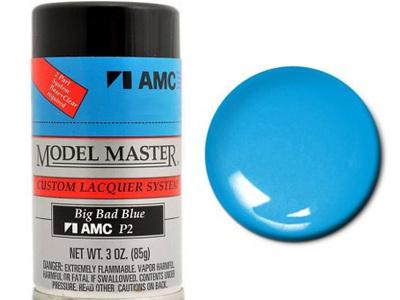 Testors Model Master Automotive Lacquer AMC Big Bad Blue Spray