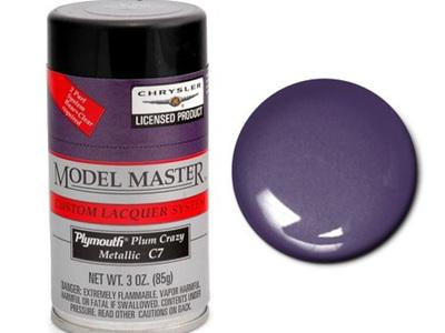 Testors Model Master Automotive Lacquer Chrysler Plum Crazy Metallic Spray