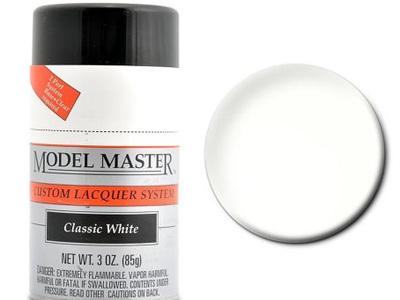 Testors Model Master Automotive Lacquer Classic White Spray