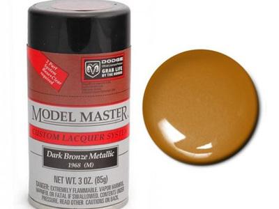 Testors Model Master Automotive Lacquer Dodge Dark Bronze Metallic Spray