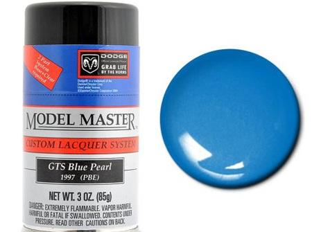 Testors Model Master Automotive Lacquer Dodge GTS Blue Pearl Spray