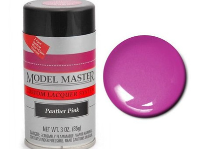 Testors Model Master Automotive Lacquer Dodge Panther Pink Spray