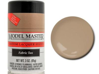 Testors Model Master Automotive Lacquer Fabric Tan Spray