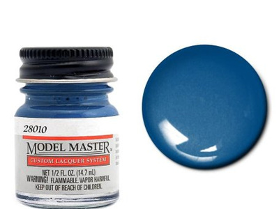 Testors Model Master Automotive Lacquer Ford Engine Blue