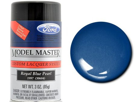 Testors Model Master Automotive Lacquer Ford Royal Blue Pearl Spray