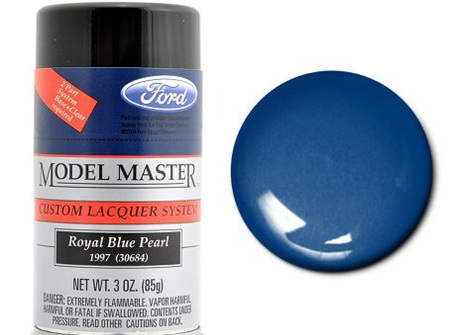 Testors Model Master Automotive Lacquer Ford Royal Blue Pearl Spray (TES28130)