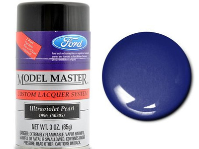 Testors Model Master Automotive Lacquer Ford Ultraviolet Pearl Spray