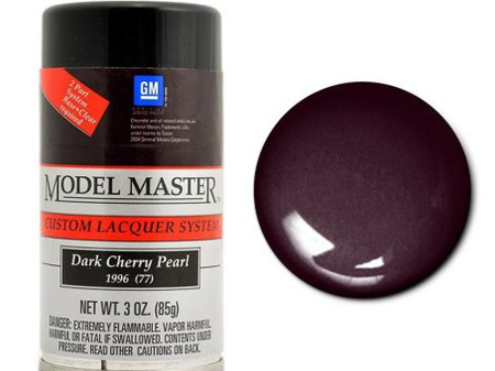 Testors Model Master Automotive Lacquer GM Dark Cherry Pearl Spray